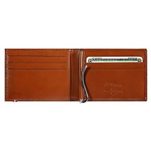 Preisvergleich Produktbild S.T. Dupont Line D Brieftasche, Braun, Leder, 6 Karten, 180101
