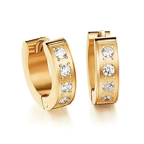 Fate Love Jewellery Aucun poinçon Acier inoxydable|#Stainless Steel Zirkonia FASHIONEARRING