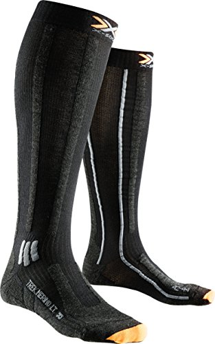 X-Socks Messieurs xtrek King Mérinos Light Long wanderstrumpf, Homme, Trekking Merino Light Long