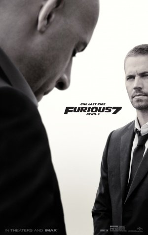 Fast And The Furious 7Film Limited Print Foto Poster Größe 8X 10# 1Paul Walker Vin Diesel The Rock Ronda ROUSEY