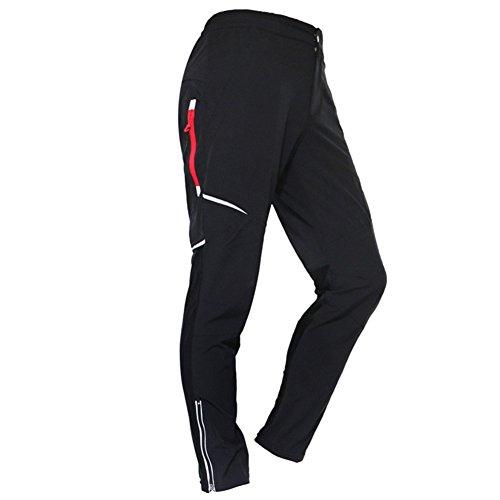 Herren Hose, West BikingLang Radhose Fitness-Hosen für Herren Reflektierende Radsport Running Fahrradhose