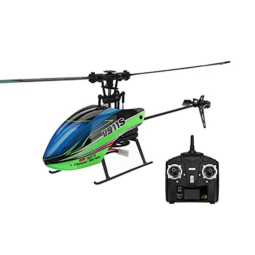 Niulyled RC Helicopter - WLtoys V911S 2.4G 4CH Four-way helicopter plane with single propeller without aileron aircraft 6 gyro axes
