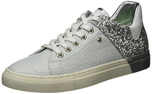 Replay Damen Lolard Sneaker Silber (WHITE Silver)