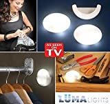 #8: Luma Lights: Motion-Activated Portable LED Lights Innovative Light Pods (2pc) - As Seen on TV