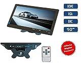 TV TELEVISORE MONITOR 10,1 POLLICI COLORI LCD VGA HDMI BNC VIDEOSORVEGLIANZA TFT immagine