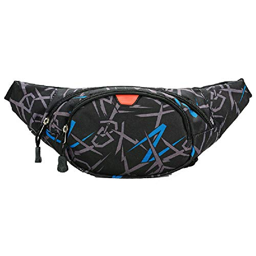 HWYP Running Belt Waist Pack - Wasserbeständige Läufer Gürteltasche zum Wandern Fitness - Verstellbarer Sportgürteltaschenhalter für Männer und Frauen.-2