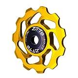Vkospy MTB Posteriore della Bicicletta Cambio Guida Cuscinetto Ruota Ceramica della puleggia di Ciclismo su Strada Bike Guide Roller