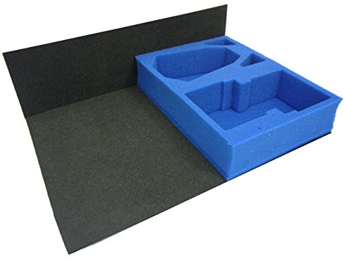 KR Multicase Tray: Decimator plus 2 compartments for Card Sets/Stands/Dice/Tokens etc. (the 2 extra compartments can hold 2 XW61/XW63/XW65 inserts if desired, these are available separately).