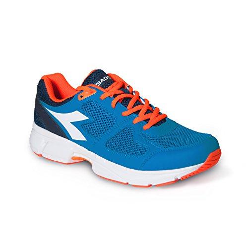 Diadora Shape 8, Blue Bell / Blanc Chaussures De Course Pour Homme