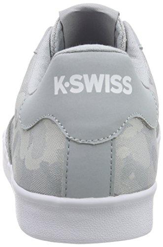 K-Swiss Belmont So T Camo, Baskets Basses homme Bleu - Blau (Highrise Camo/White)