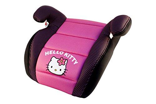 Sillita de auto Hello Kitty para niños, alzador - rosa y negro...