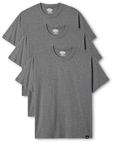Dickies Herren Langarmshirt Streetwear Male T-Shirt Pk, Drk Grey Mel, S