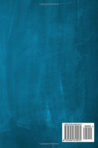Chalkboard Journal - Ampersand (Aqua): 100 page 6