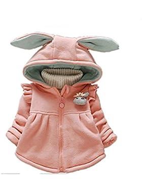 Sevenelks Baby Mädchen Winter Jacke Kinderjacken mit Ohren 0-3 Jahre