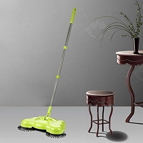 Hunpta Nouvelle arrivée 360rotatif l'utilisation à domicile manuel télescopique de sol poussière Sweeper