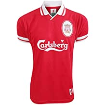 Liverpool FC - Camiseta oficial Retro 1996 hombre caballero - Fútbol