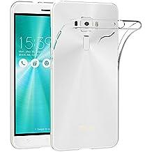 """Funda ASUS ZenFone 3 ZE552KL, AICEK ASUS ZenFone 3 Funda Transparente Gel Silicona ASUS ZenFone 3 Premium Carcasa para ASUS ZenFone 3 5.5"""""""
