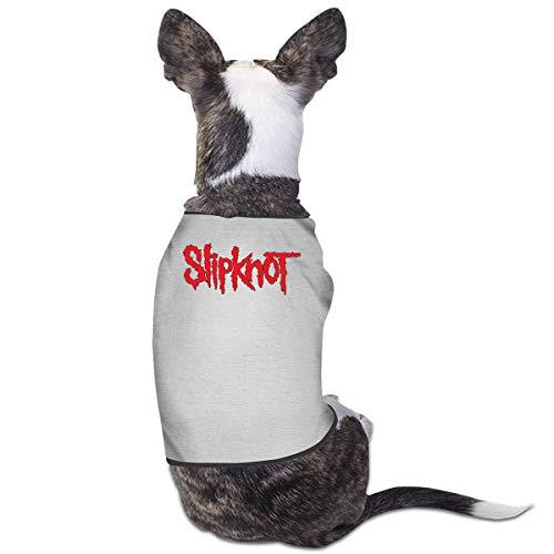 Kostüm Baby Doe - Jiaojiaozhe Slipknot Pet Service Pet Clothing Funny Dog Cat Costume Tshirt Gray