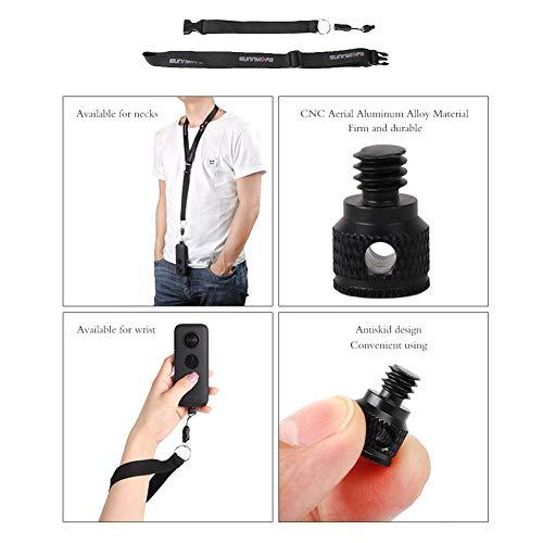 raninnao Kamera-Abzugsleine Sunnylife Insta360 One X Fotozubehör Panoramakamera HandseilKameragurt Kreativ Und Tragbar