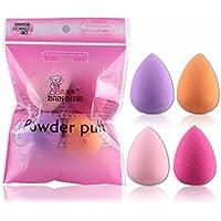 Demarkt 4pcs Proschönheits Flawless Makeup Blender Foundation Puff 4 Farbe zufällig