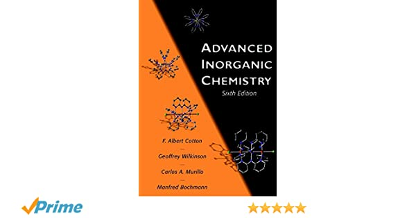 Advanced Inorganic Chemistry 6th Edition Pdf