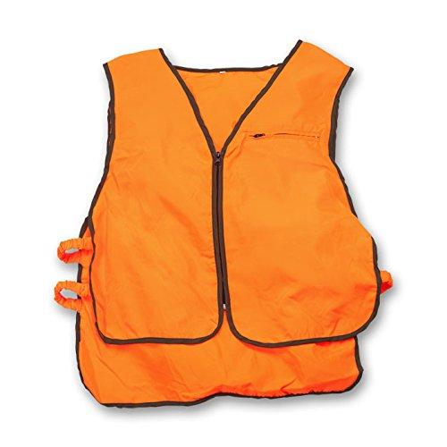 Weste Weste Orange Arbeit Hohe Sichtbarkeit reflektierendes Jagd Wildschwein (Weste Orange Jagd)
