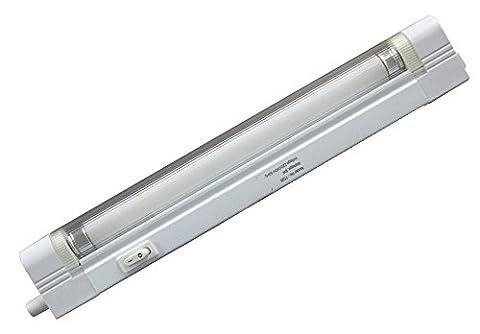 T4 Cabinet-Undershelf Light Fitting 10W CFL Tube Energy Saving