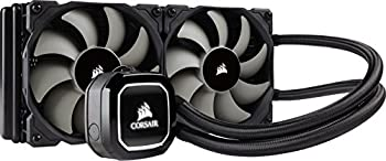 Corsair Hydro H100 X 240 Mm Radiator Dual 120 Mm Pwm Fans Liquid Cpu Cooler - Black 0