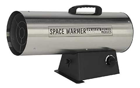 Sealey LP100S 68000 - 97000 Btu/hr - Stainless Steel Space Warmer Propane Heater