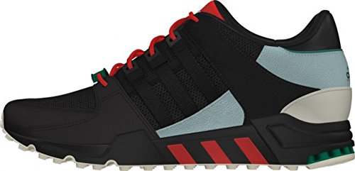 Adidas Equipment Running Support 93, core black/green earth/carbon core black/green earth/carbon