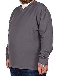 D555 - Pull - Homme gris gris XXXX-Large