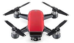 Dji Spark - Mini-drohne Mit Max. Geschwindigkeit Von 50 Kmh, Bis Zu 2 Km ÜBertragungsreichweite, 1080p Videos Mit 30 Fps Und 12 Megapixel Fotos - Rot