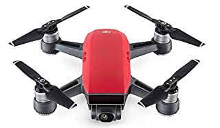 DJI Spark - Mini-Drohne mit max. Geschwindigkeit von 50 km/h, bis zu 2 km Übertragungsreichweite, 1080p Videos mit 30 fps und 12 Megapixel Fotos - Rot (B072FVBRRH) | Amazon price tracker / tracking, Amazon price history charts, Amazon price watches, Amazon price drop alerts