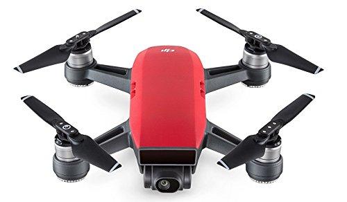 dji Spark - Dron cuadricóptero (Full HD, 12 mpx, 50 Km/h, 16 Minutos), Rojo