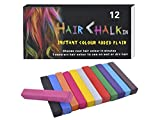 Haarkreide 12 Farben Haartönung Haarpuder Haarfarbe Kurz Färben Haar Kreide #3860