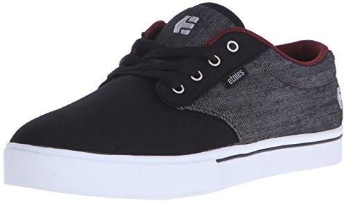 Etnies Jameson 2 Eco - Scarpe da Skateboard uomo Nero (Black (Black/Red/Black 551))