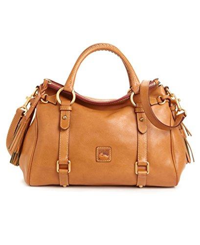 dooney-bourke-damen-henkeltasche-beige-natur