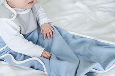 Antipodes Merino Saco de Dormir para bebés y niños pequeños - Cualquier Temporada, Hecho de Lana y algodón - un tamaño Universal, 0-2 año