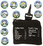 Golf Coin Challenge Game. On-Course Challenge for all Golfers