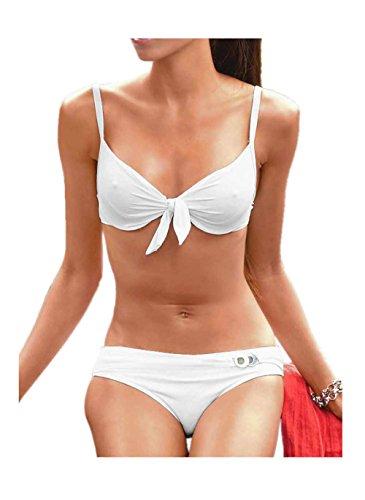 Heine Bügel-Bikini C-Cup Weiß Größe 36