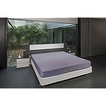 BSensible Sábana bajera protectora para cama articulada de pies y cabeza, tencel, Malva 80