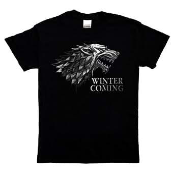 Game of Thrones - T-Shirt - Winter is Coming Stark Lannister Targaryen Serie Kult (XXL)
