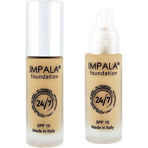Impala Base Maquillaje N7 Leonado 24/7 Waterproof
