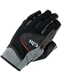 Gill Championship Short Finger Sailing Gloves Black 7241