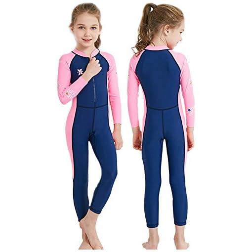 b9faf5ec7b YIFEIKU Co.,Ltd. Kids One Piece Swimsuit Long Sleeves Long Trousers ...