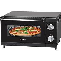 Bomann MPO 2246 CB - Horno sobremesa especial para pizza, capacidad 12 l, 1000