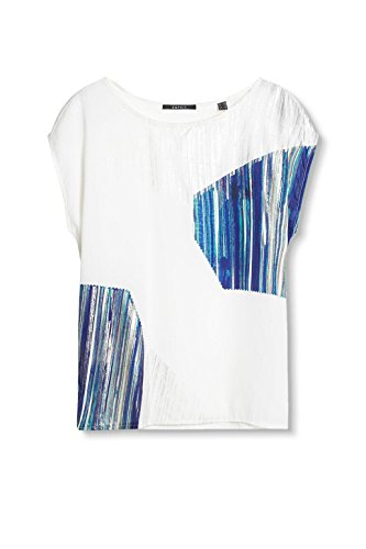 ESPRIT Collection Damen Top Weiß (Off White 110)