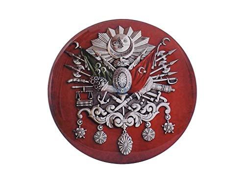 Gök-Türk Universal Aufkleber Sticker Wasserdicht Wasserfest Auto Frontscheibenaufkleber - Abdülhamids Tugra Sultans Stempel Ottomanisches Reich Osmanli