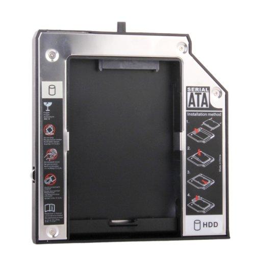 12.7mm SATA 2. HDD Festplatte Caddy für IBM Lenovo Thinkpad R400 R500