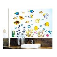 DecoBay Fish Bathroom Stickers/Children